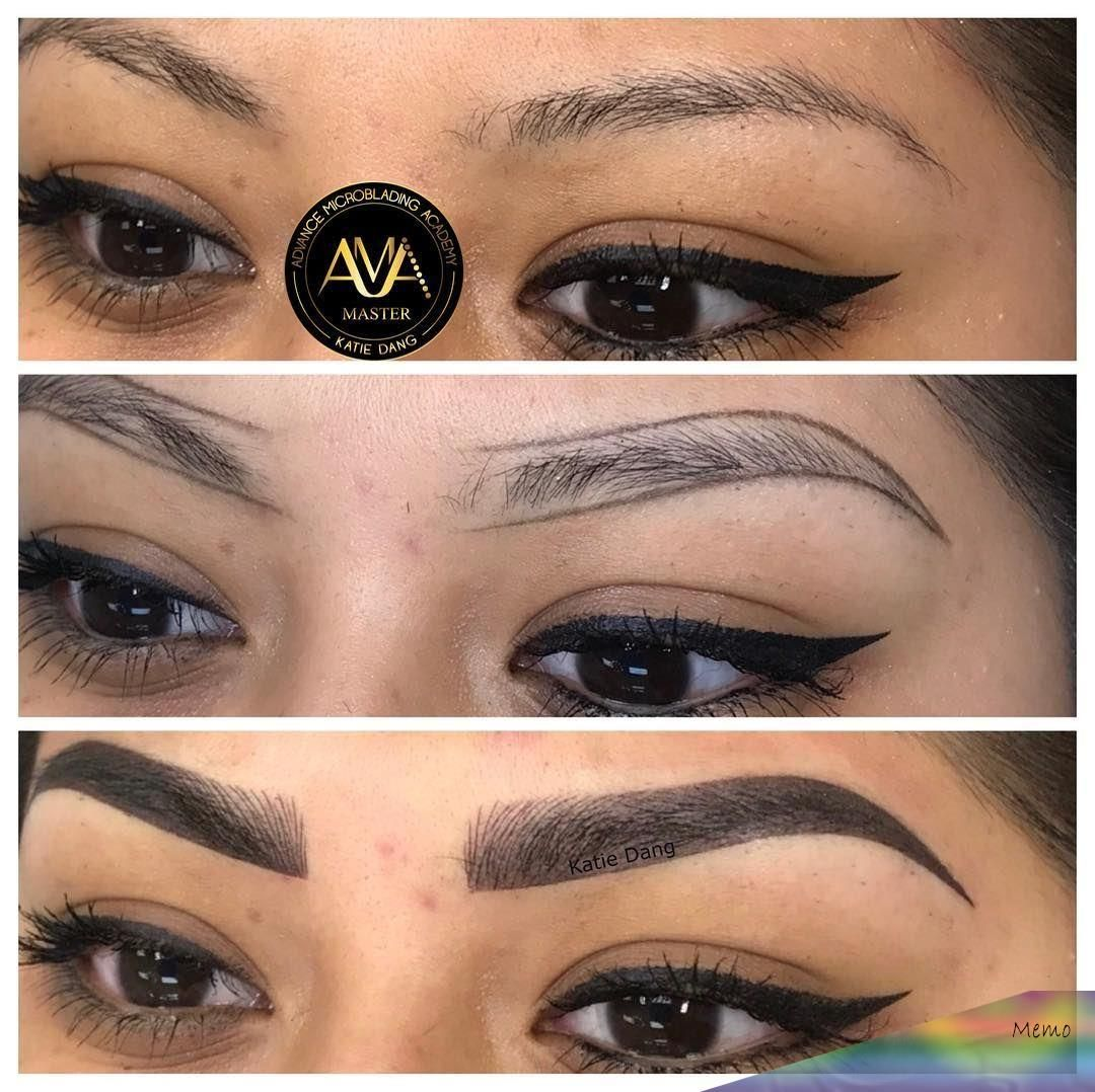 Photo of Mar 20, 2018 – Microblading & Shading by Katie Dang. Service…