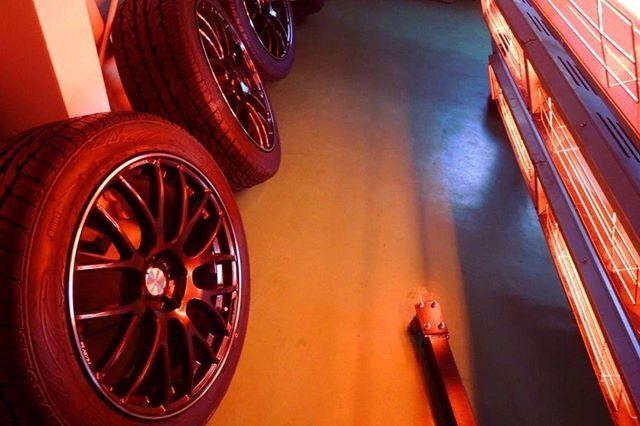 Homura Rays Glcクーペ 2月に発売されたメルセデス Glcクーペ お車の納車はまだですが 先にアルミホイールへコーティング アルミホイール ホイール 納車