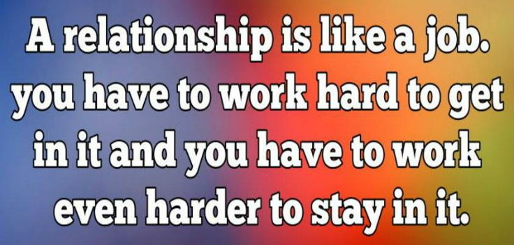 Dating hard work