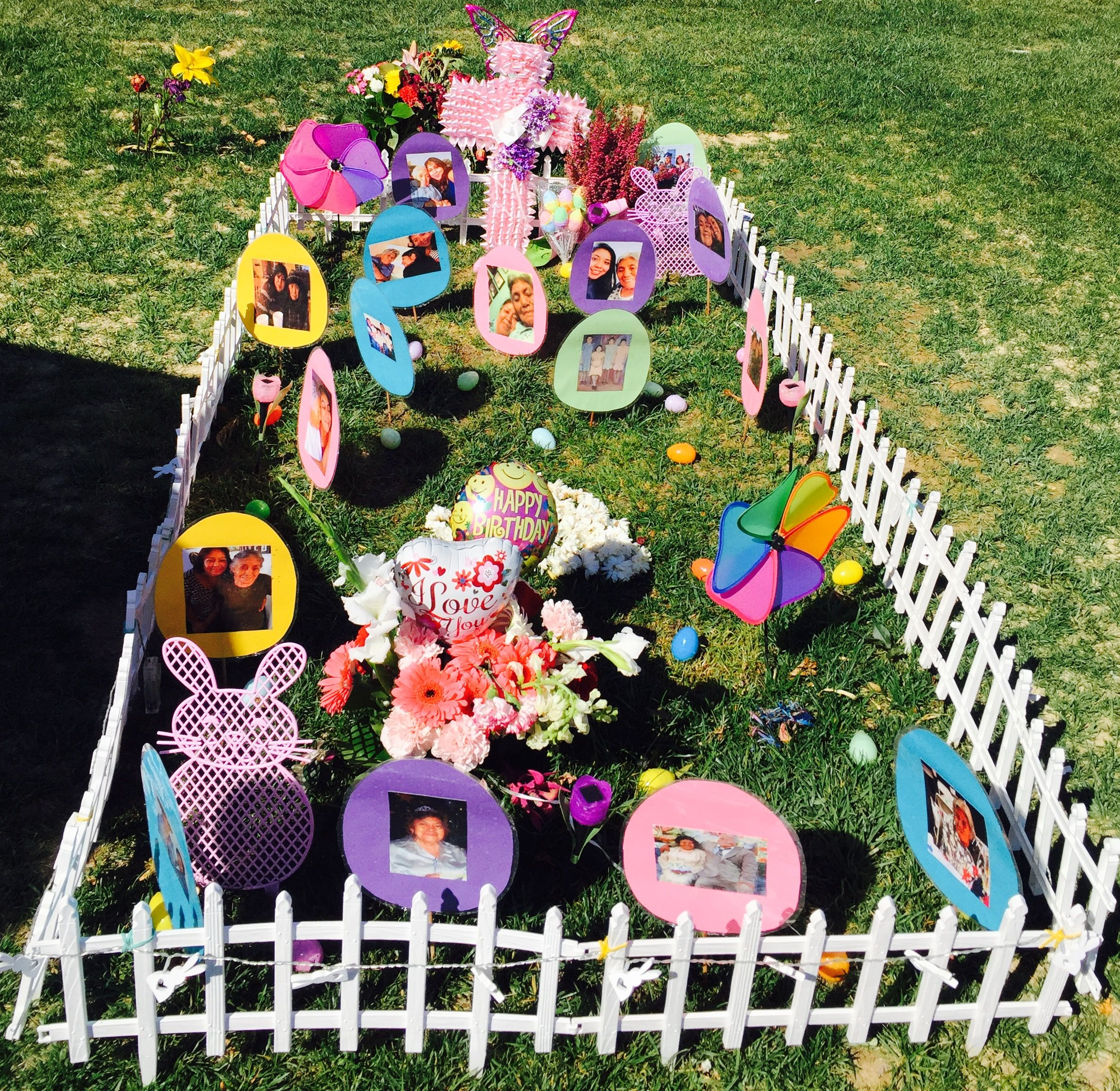 Diy Christmas Grave Decorations: Easter Gravesite Decorations