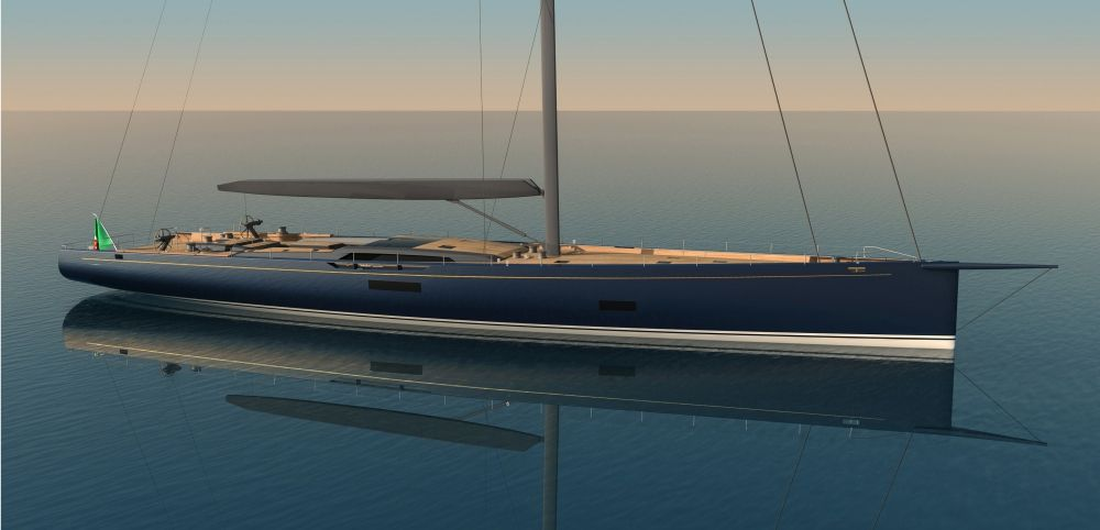 Closer look at new Reichel Pugh Nauta Baltic 130' - Design - SuperyachtTimes.com