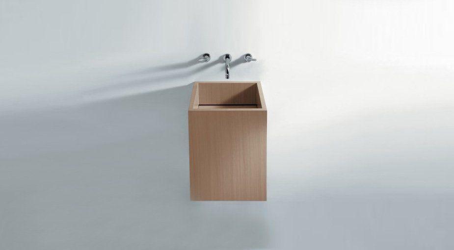 Cube washbasin by Benedini Associati in Luminaire catalog