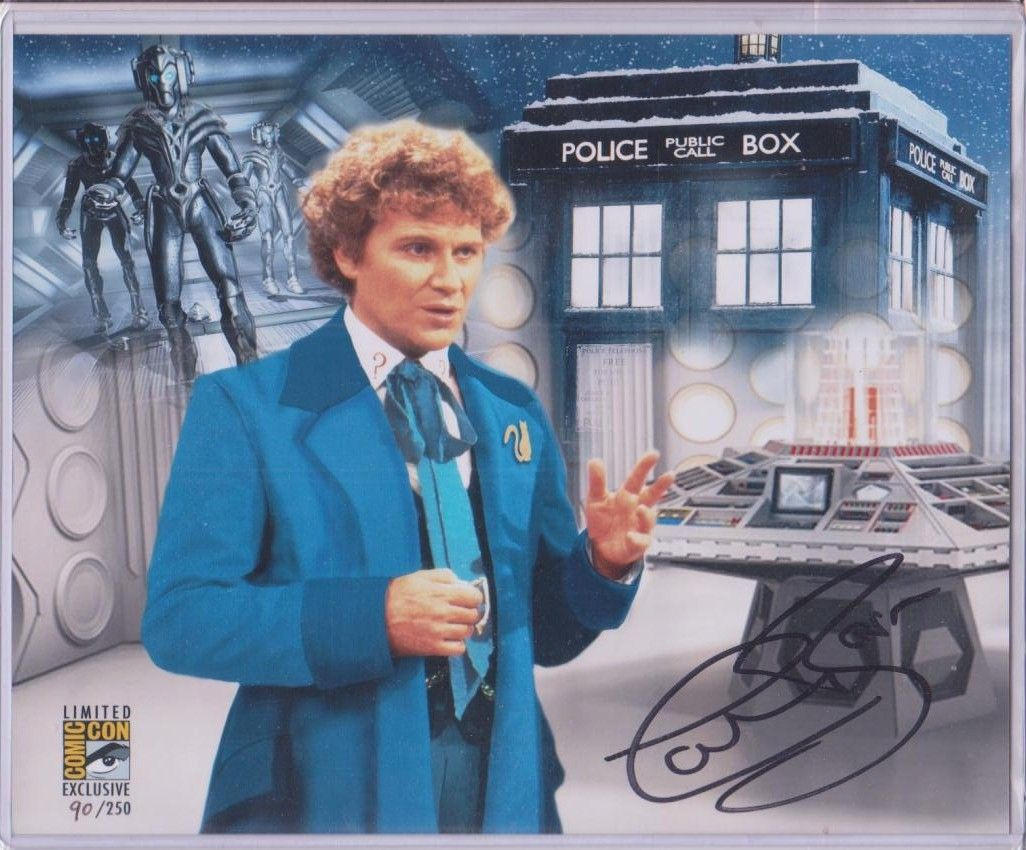 COLIN BAKER 1984//86 DOCTOR WHO CLASSIC FIGURE THE 6th SIXTH DOCTOR