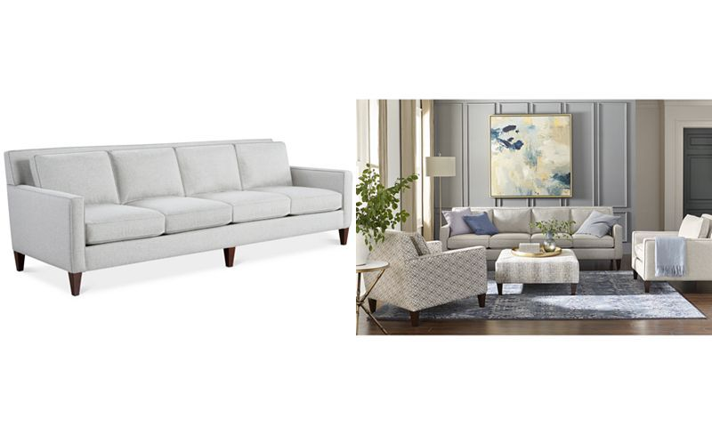 Kenford 104 Four Seater Fabric Sofa Created For Macy S Sale