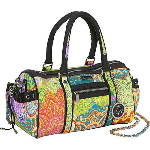 Click Image Above To Buy: Beach Handbags Coronado Shores Beach Medium Satchel - Shoulder Bag