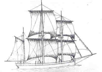 """Kreiert var et tremastet skip med høyt akterskip med vinduer og rigget som bark. Den hadde råseil, et på undermasten og et på stangen med klyverbom og stagseil. Dette var vel den mest alminnelige fartøystype i våre hjemlige farvann. Drektighet fra 20-60 lester. I Tønsberg skipsregister forekommer kreierter meget hyppig. Kreiert Enkelte av disse typer går over i hverandre og forskjellen sees selvfølgelig best av tegninger. I Knud Klem: """"De danskes Vej"""" og Erik Hägg: """"Under regel"""" finnes…"""