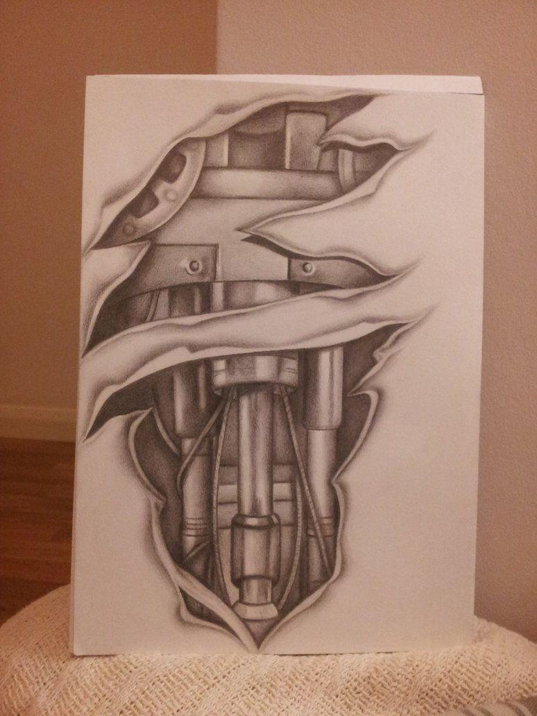 Biomechanical tattoos designs - Biomechanical Tattoo Sleeve Design By Shell31 On Deviantart