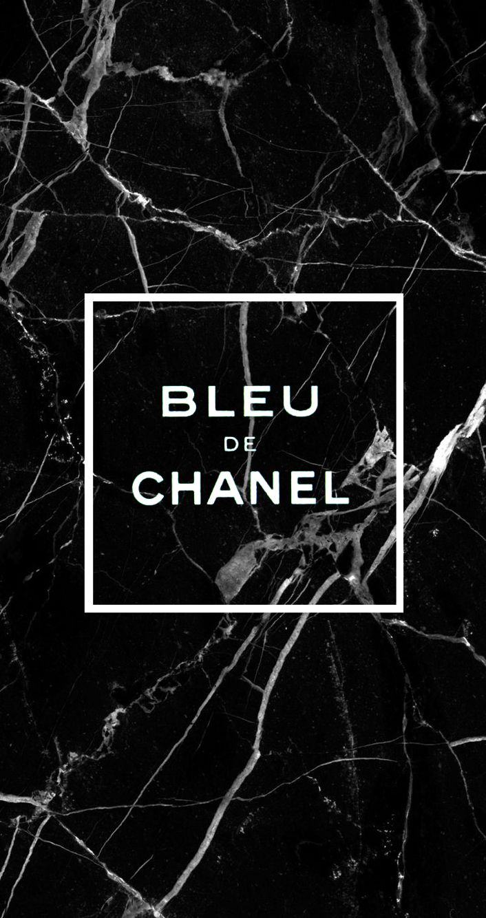 Bleu De Chanel Black Marble Wallpaper Iphone6s