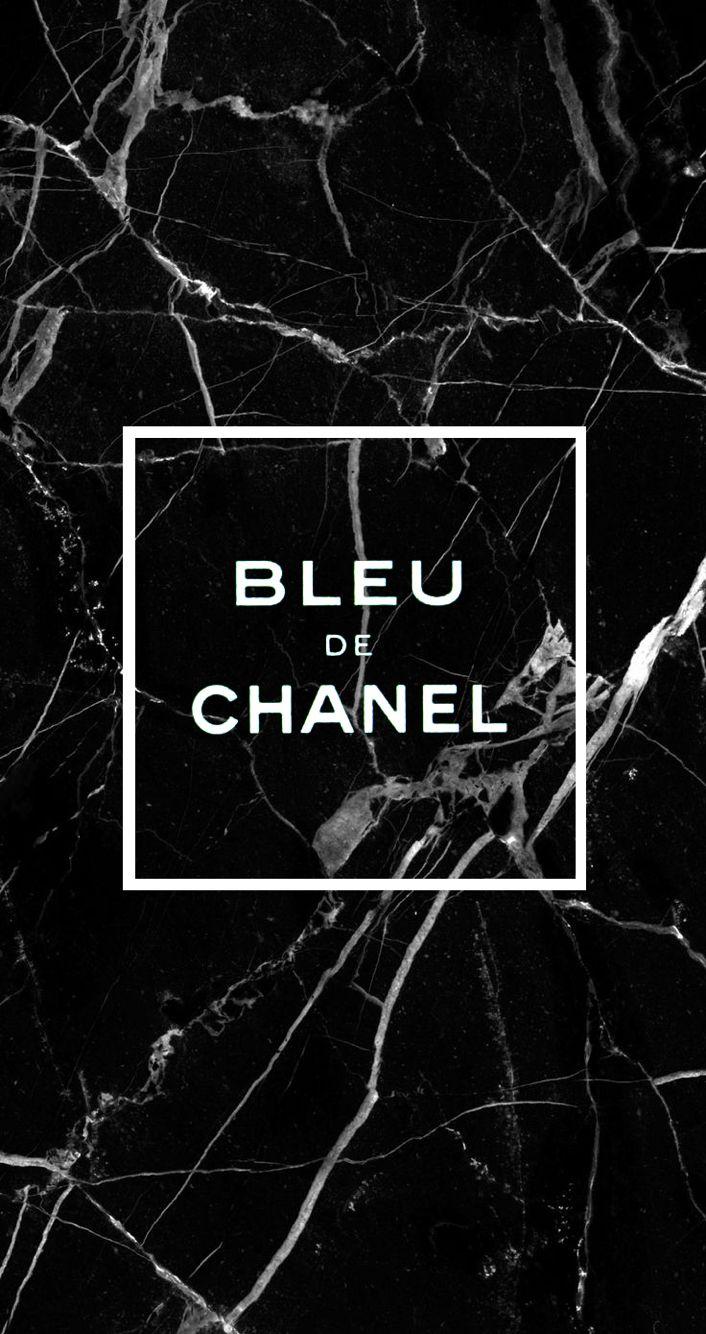 bleu de chanel black marble wallpaper iphone6s iphone6