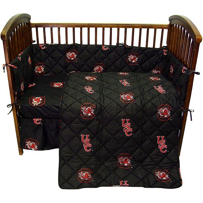 South Carolina University Gamecocks 5-piece Crib Bedding ...