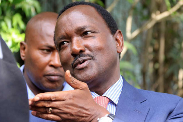 Kenyan ex-Vice President Kalonzo appointed S  Sudan special