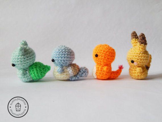 A mini shiny Mudkip I crocheted! : pokemon | 428x570