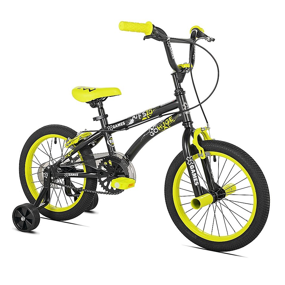 X Games 16 Boy S Bicycle In Black Boy Bike Kids Bike Bmx Bicycle