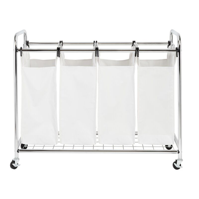 Heavy Duty Quad Laundry Hamper With Images Laundry Sorter