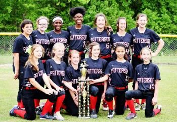 Patterson Junior High wins parish softball tournament | StMaryNow.com | Franklin Banner-Tribune & Morgan City Daily-Review | St. Mary Parish, La.