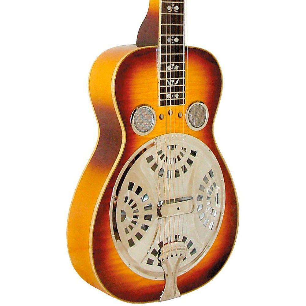 Gold Tone Beard Signature Series Deluxe Resonator Guitar Square Neck Resonator Guitar Guitar Gold Tones