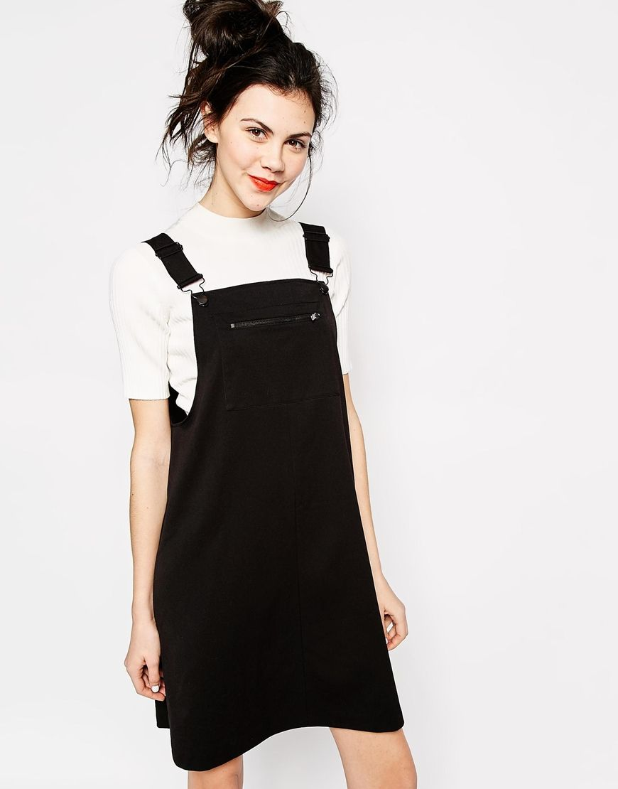 Dungaree Dress Outfits