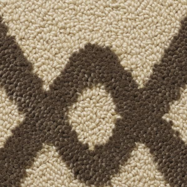 Chain Link Tufted Rug In Desert Taupe Colorway Designed By Merida Studio And Made Fall River Ma