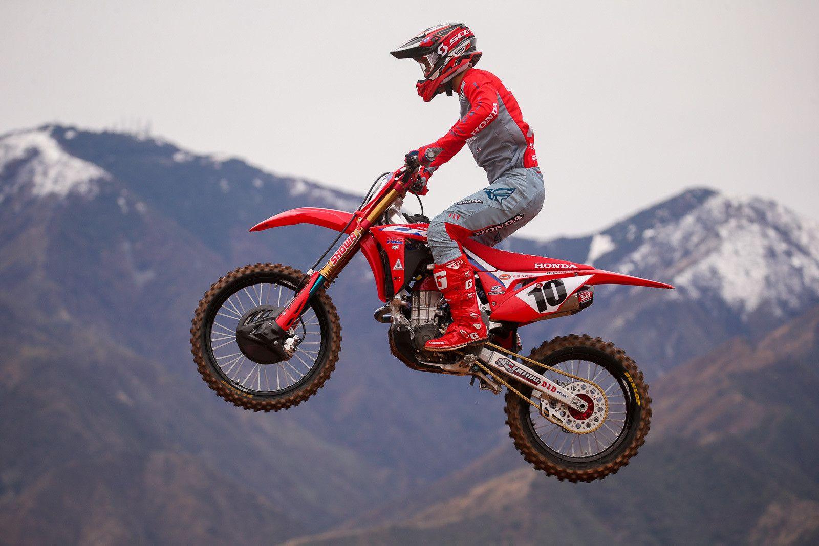 Seeing Red Honda 2020 Team Intro Motocross Feature Stories Vital Mx Motocross Honda Supercross Race