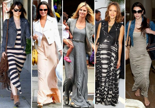 c24fdb9e5d5 celebrities wearing maxi dresses with blazer