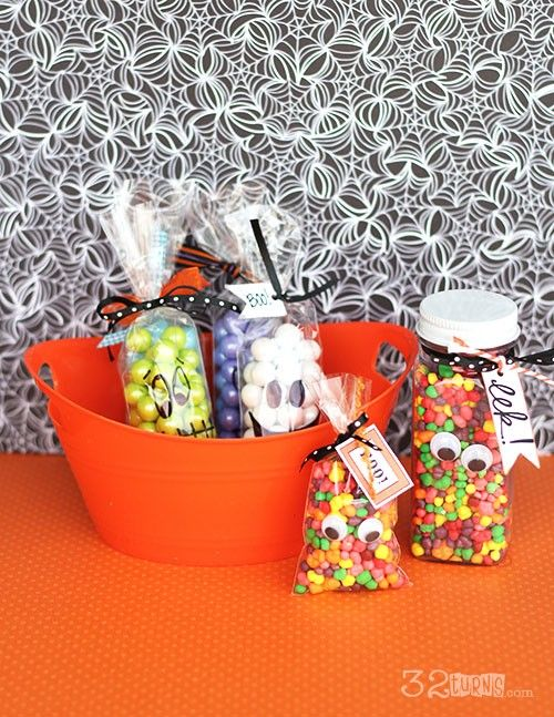 Simple Halloween Treat Bags | Holidays | Pinterest | Halloween ...