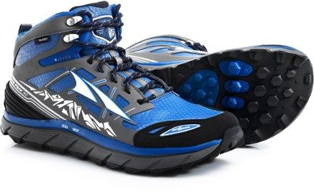 The Altra Lone Peak 3 Neoshell Mid hiking boots build off Lone Peak trail  running shoes