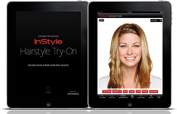 Instyle Ipad App Instyle Hairstyle Try On Ipad App Download Info Try On Hairstyles Hairstyle App Hairstyle