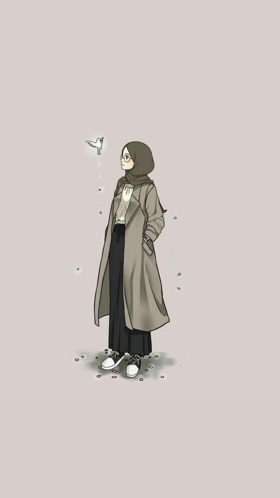 خلفيات بنات محجبات كرتون Hijab Cartoon Girl Cartoon Girls Cartoon Art