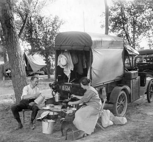 Camping @ Rocky Mnt. Lake Park, Denver.