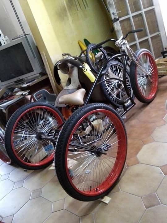 Triciclo Trike Kustom Kruiser Ii Big Foot Delgado Cycles Garage