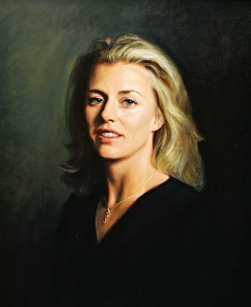 Oil Portraits - Hazel Morgan