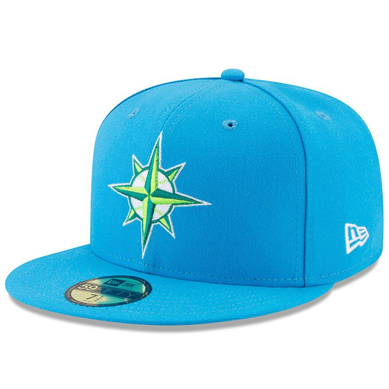 348b3d94638 Seattle Mariners New Era 2017 Players Weekend 59FIFTY Fitted Hat - Blue