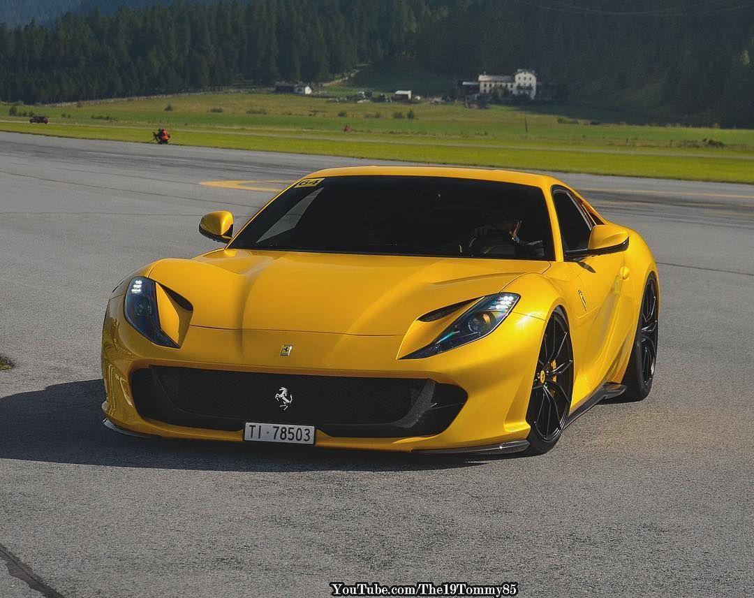 Ferrari 812 Superfast Super Cars Cars Sports Cars Luxury