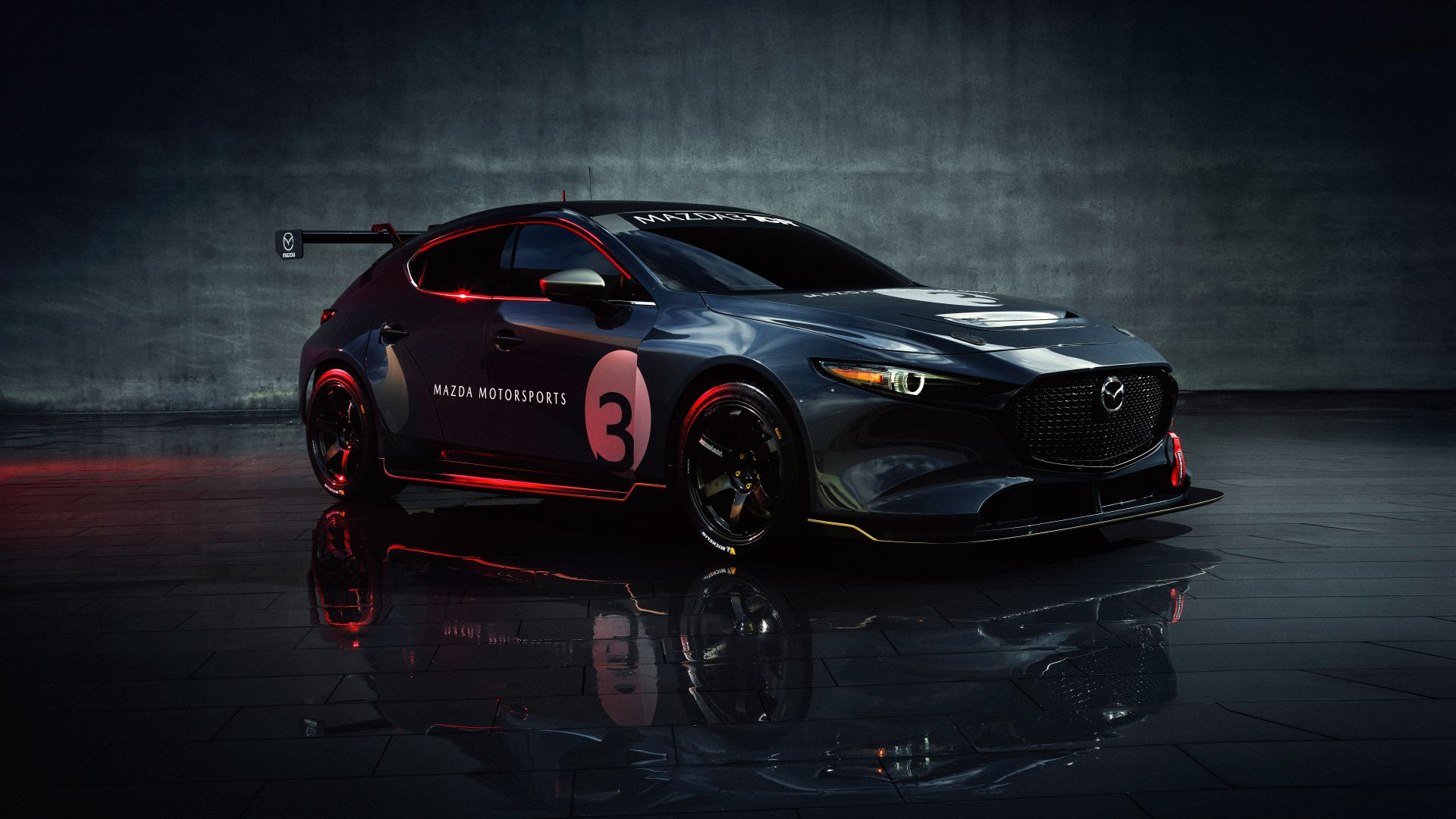 1920x1080 2020 Mazda3 Tcr Race Car Wallpaper Mazda Touring Car