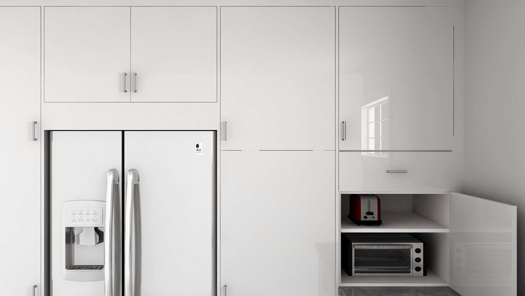An IKEA hack for a custom appliance garage for your kitchen | For ...