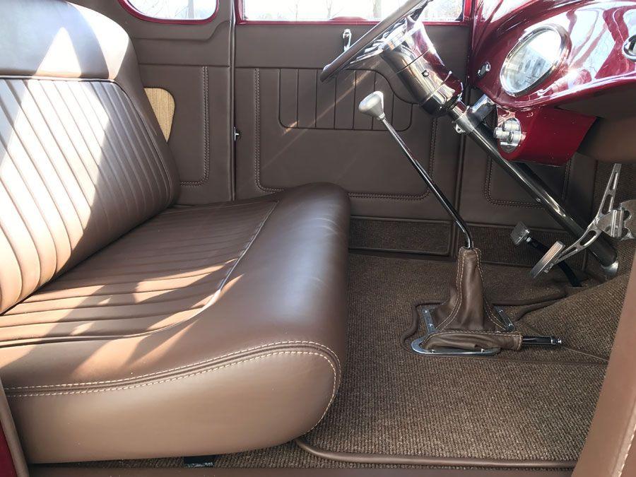 1931 Ford Model A Full custom interior By Bux Customs Hot Rod Interiors