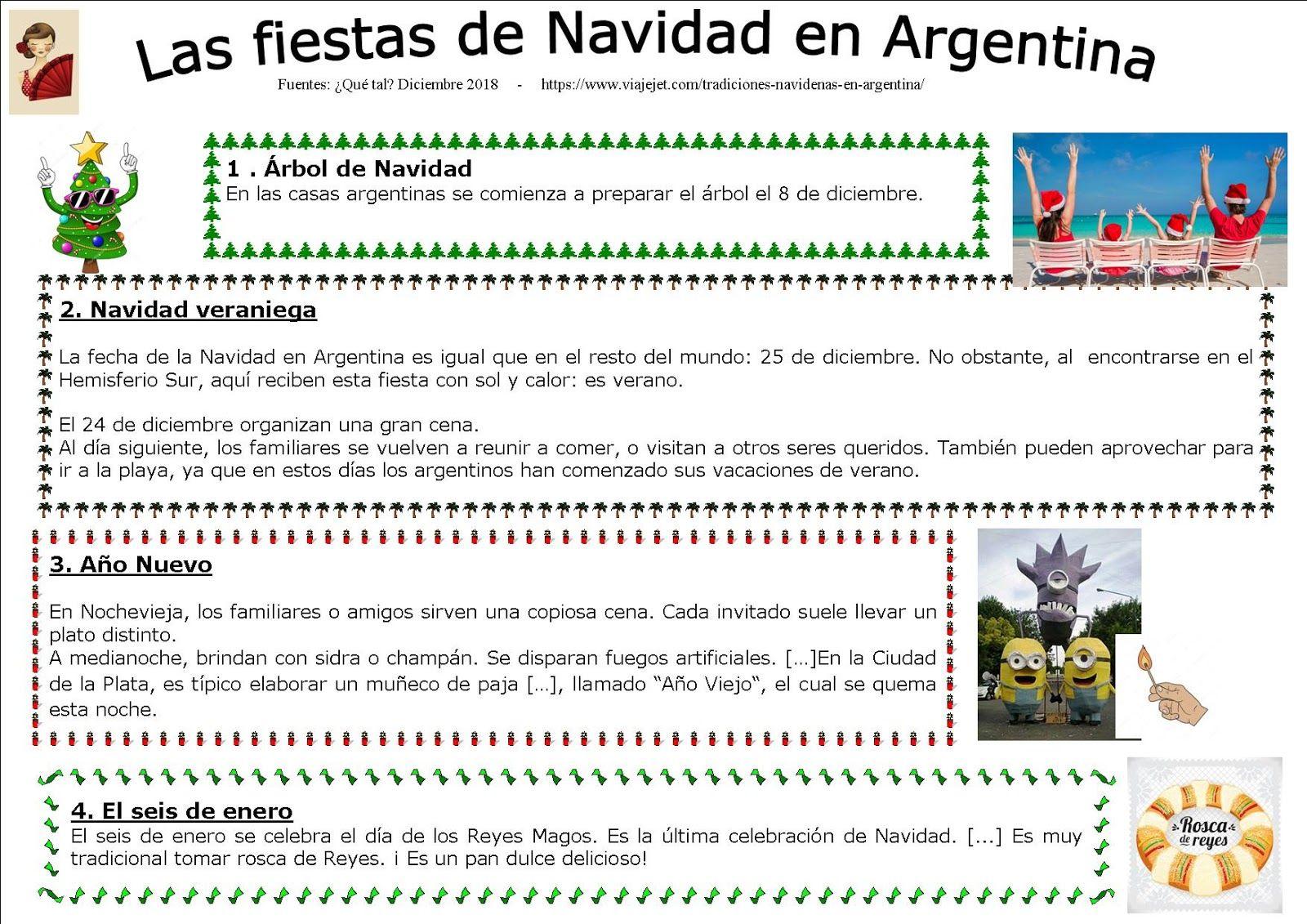 La Navidad En Argentina Spanish [ 1131 x 1600 Pixel ]
