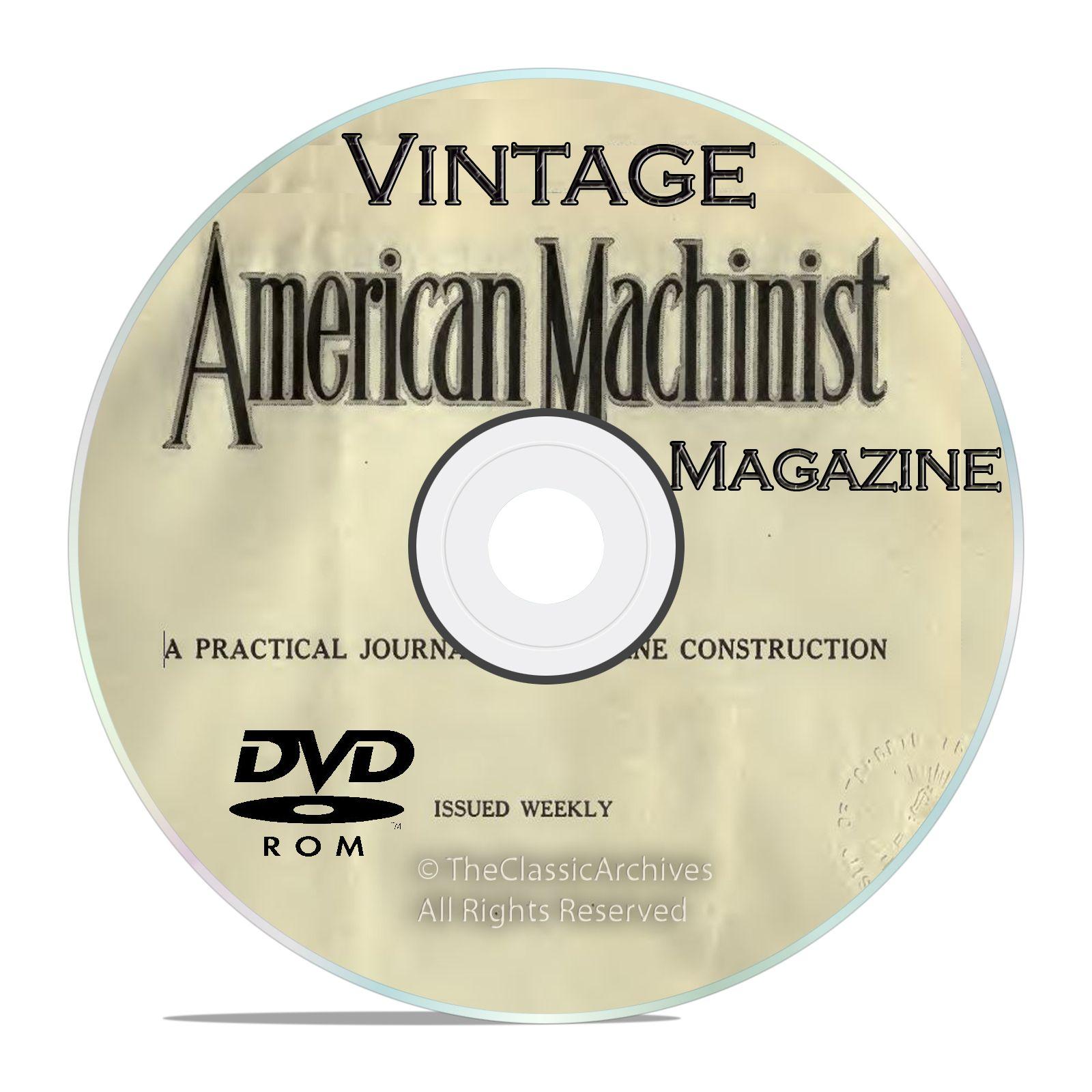 Vintage American Machinist Magazine, Machinery Handbook
