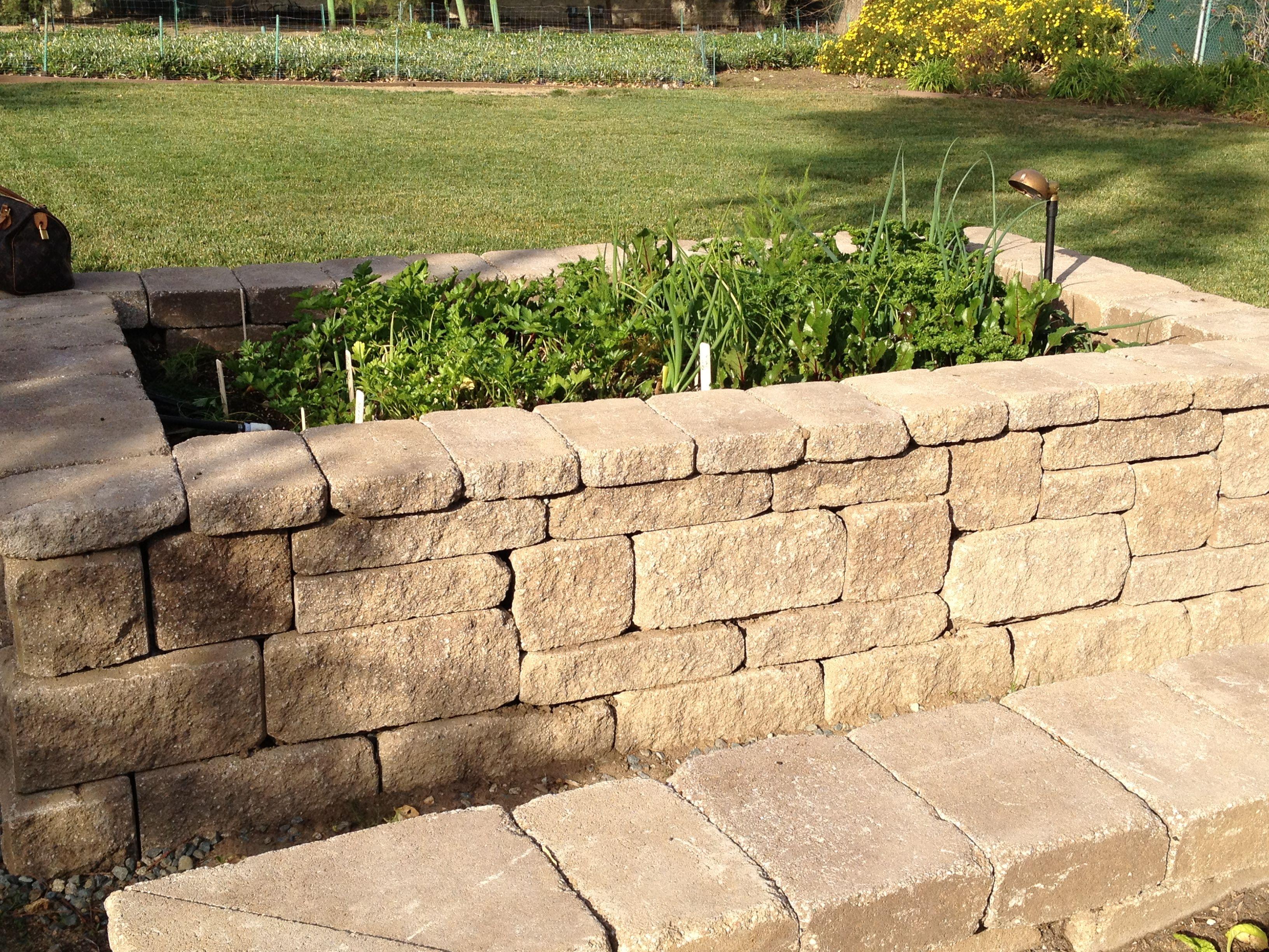 Garden beds using Europa by ORCO pavingstones #organic #garden #home ...