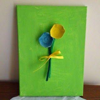 Kids art: easy Mother's Day gift