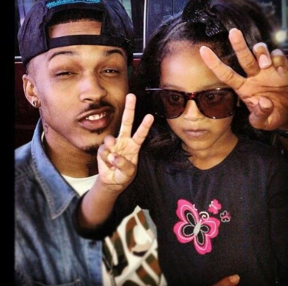 August Alsina And His Sister
