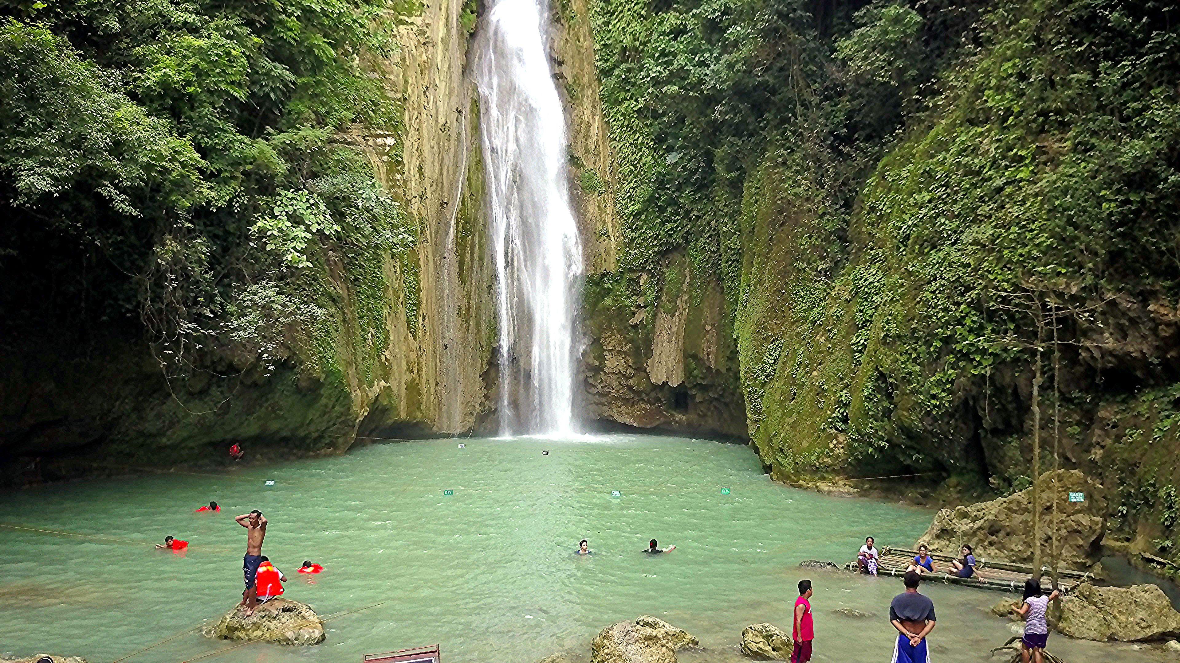 Mantayupan Falls, Barili, Cebu, Philippines #Cebu #Philippines #Waterfalls