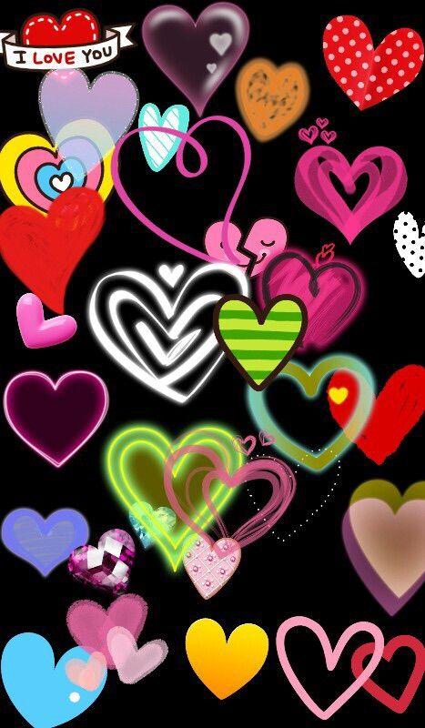 Image Via We Heart It Colours Fantasy Hearts Wallpaper