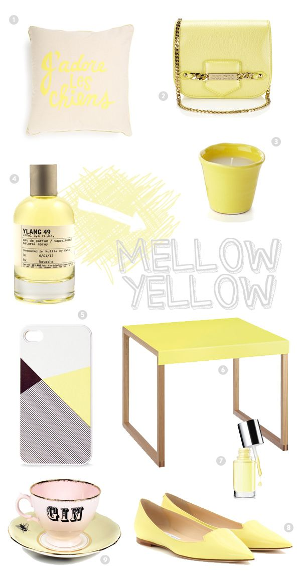 Inspired by Mellow Yellow!