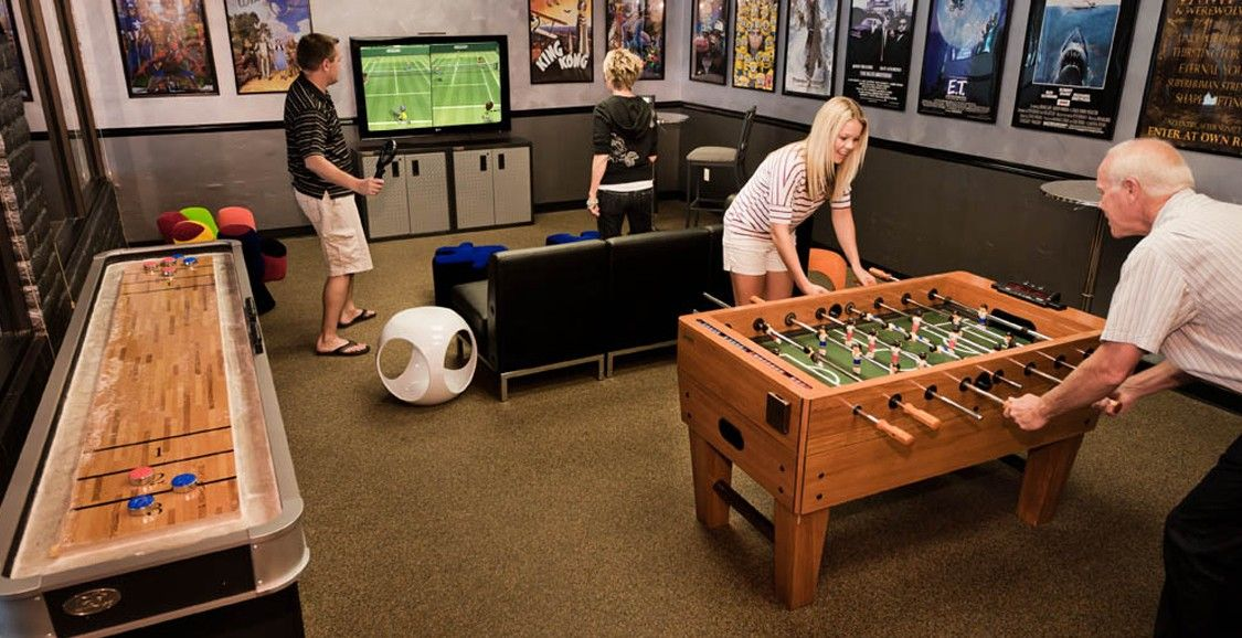 Kids small game room google search game room - Family game room ideas ...