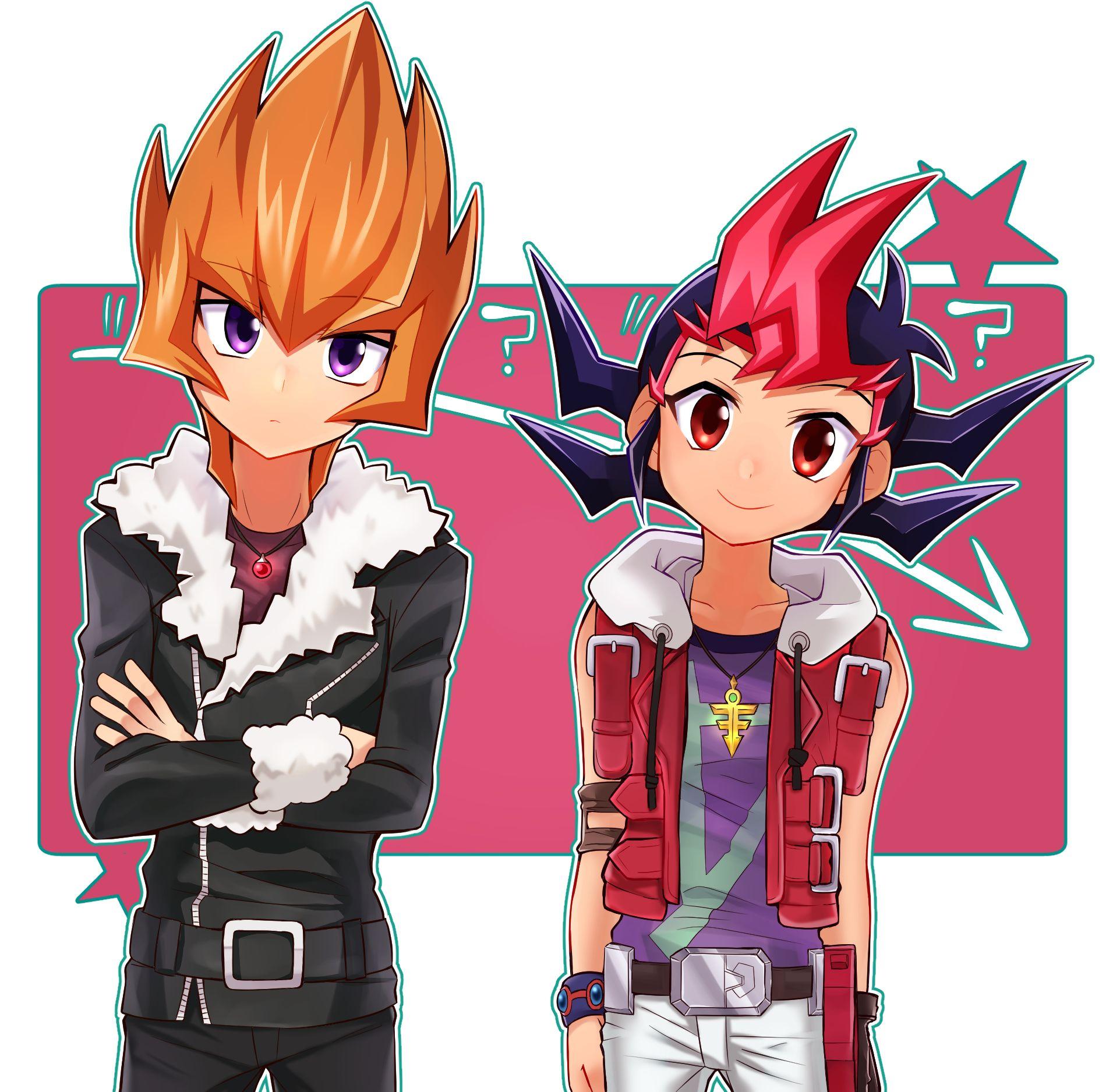 Vector and Yuma Yugioh, Anime, Yu gi oh zexal