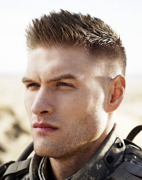 Short Army Haircuts For Men 9