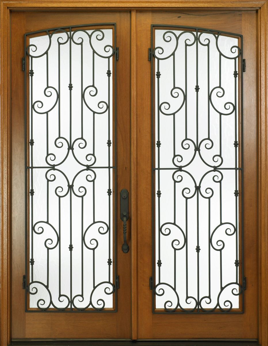 French Doors Exterior Security Photo 5