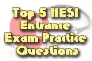 hesi pre admission test