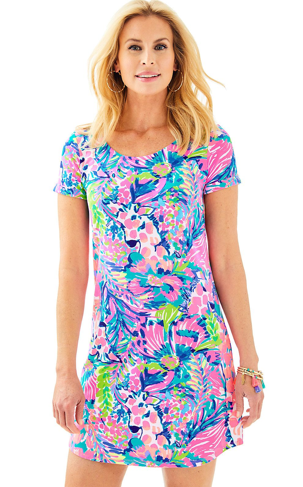 fea90cb41fe Lilly Pulitzer Womens UPF 50+ Tammy Dress